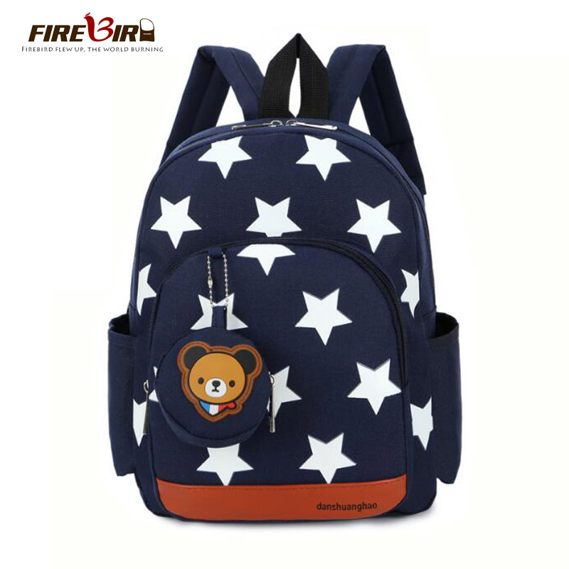 Children Bags for Boys Kindergarten Nylon Children School Bags Printing Baby Girl School Backpack Cute Children Backpack FN484