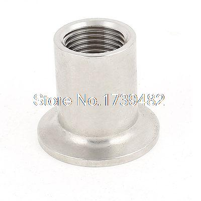 Stainless Steel 304 Vacuum KF25 Flange 1/2BSP Female Thread Adapter цена и фото