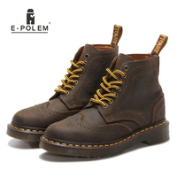 2015 Fashion Men S Martin Boots British Style Brogue Boots Shoes Men Oxford Shoes For Men