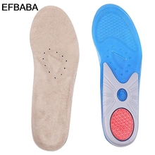 EFBABA Military Training Sports Insoles Men Women Shoe Pad Deodorant Sweat Absorbent Breathable Insole Pad Gel Cushions Inserts