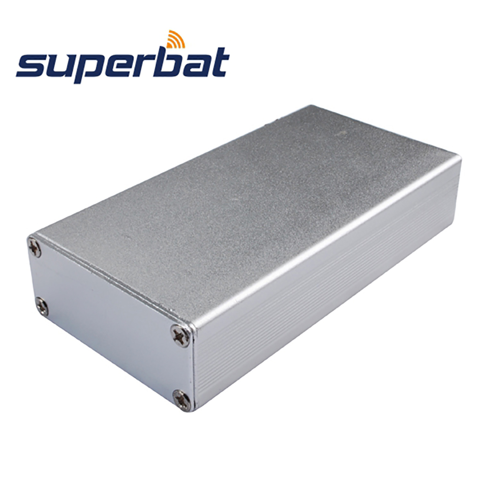 4.32″*2.23″*0.94″(L*W*H) Silver Extruded Aluminum Box Instrument Electronics Amplifier PCB Enclosure Case DIY 110*57*24 mm NEW