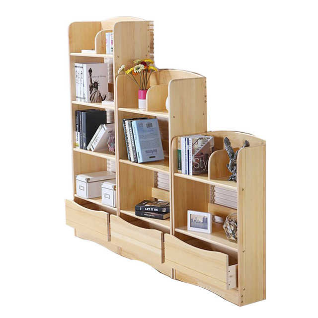 Massief Houten Plank Boekenkast Kind Boekenkast Gratis Combinatie ...