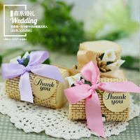 Creative Wedding Bamboo Boxes Candy Boxes Round Love Bamboo Wood Box Christmas Gifts Festival Gifts Birthday
