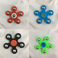 2017 NEW Free Shipping DHL 50pcs/lot hand spinner rainbow gold rose gold black metal fidget spinner For Autism ADHD fidget toys