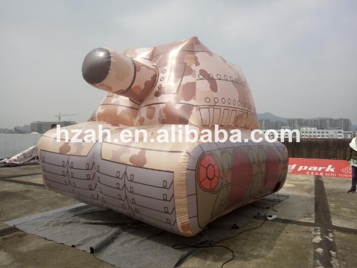 Advertising Paintball Inflatable Tank for Sale inflatable cartoon customized advertising giant christmas inflatable santa claus for christmas outdoor decoration