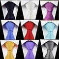 Atacado 8 cm Listra Laço de Pescoço 100% Seda Gravata para Os Homens de Cor Sólida de Alta Qualidade Gravata Corbata Stropdas Frete Grátis