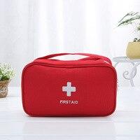 First Aid Kit Bag Fashion travel portable mobile emergency medical kit drug finishing Camping Emergency Kits Medium