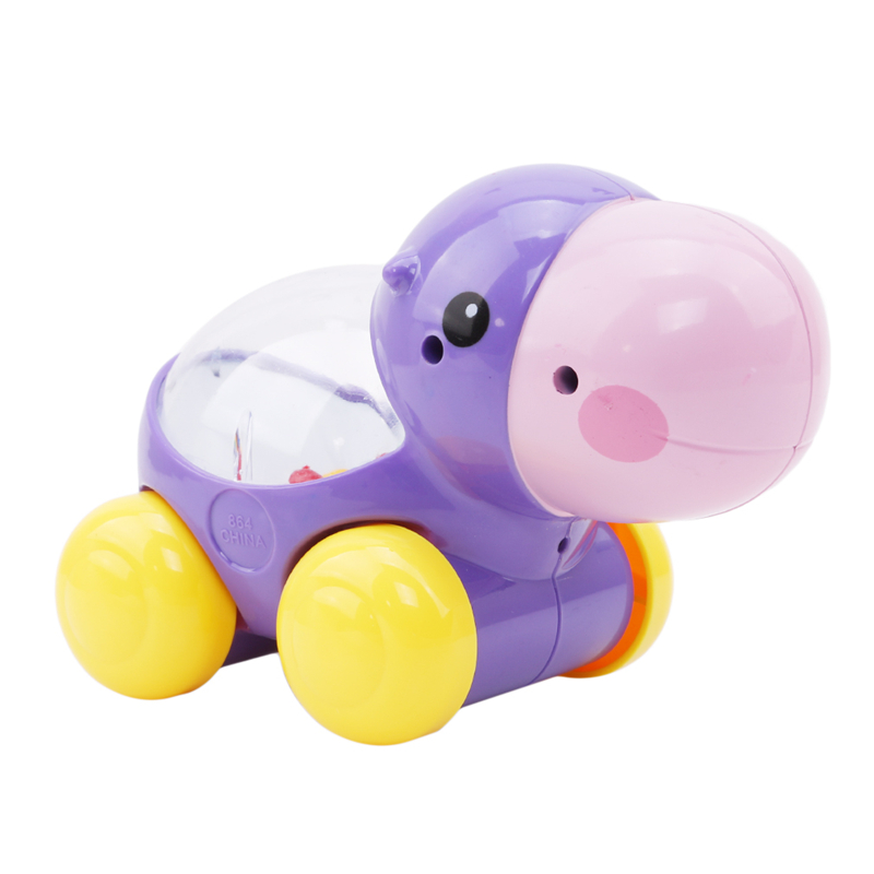 Learning Educational Toy for Children New Cartoon Gliding Sliding Small Turtle Hippo Toys Baby Plastic Creeping Toy Cute Gifts