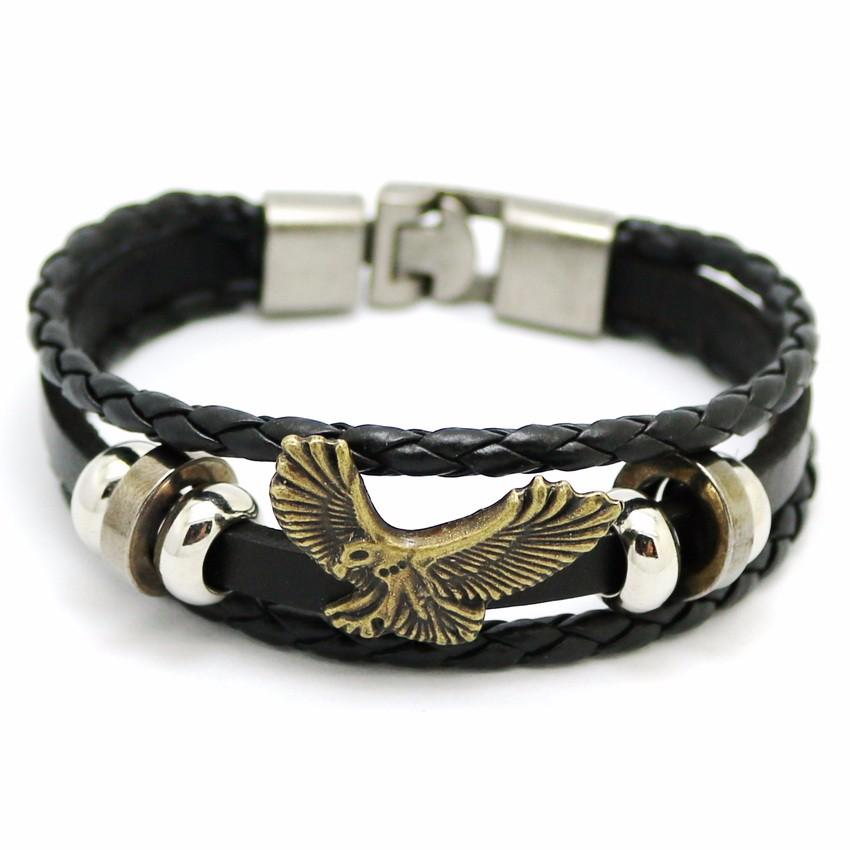 Мужской браслет eagle 2016 винтажные ювелирные изделия браслеты