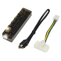 PCI-E V8.4D EXP GDC 외부 노트북 비디오 카드 독 그래픽 카드 노트북 도킹 스테이션 (미니 PCI-E 인터페이스 버전)