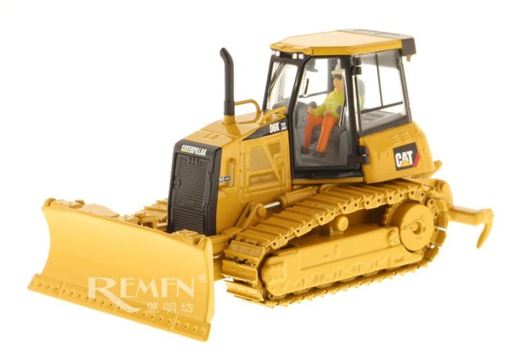 Jouet à collectionner en alliage modèle cadeau DM 1:50 échelle CATERPILLAR CAT D6K XL TYPE de piste tracteur bulldozer véhicules d'ingénierie 85192