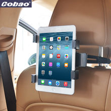 Universal asiento trasero del coche reposacabezas titular de montaje de la tableta accesorios para gps dvd del coche google nexus 7/10 ipad 1/2/3/4/mini