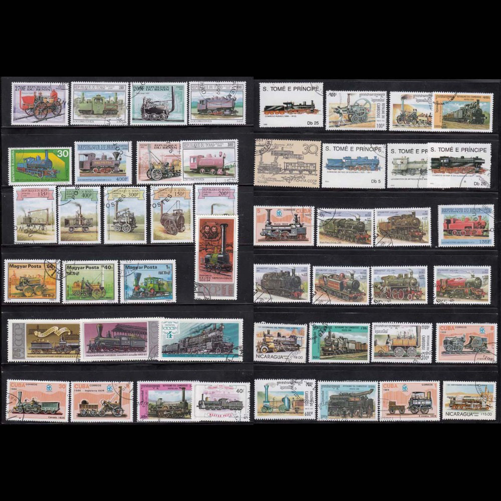 50 PCS / lot Topic Train All Different Middle And Big Size World wide Lot Postage Stamps For Colleciton фильм кадеты topic index