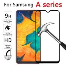 De vidrio templado para Samsung Galaxy A20 A30 A40 A50 protectora de vidrio en el para Samsung 20 30 40 50 a305F A405F A505F película frontal