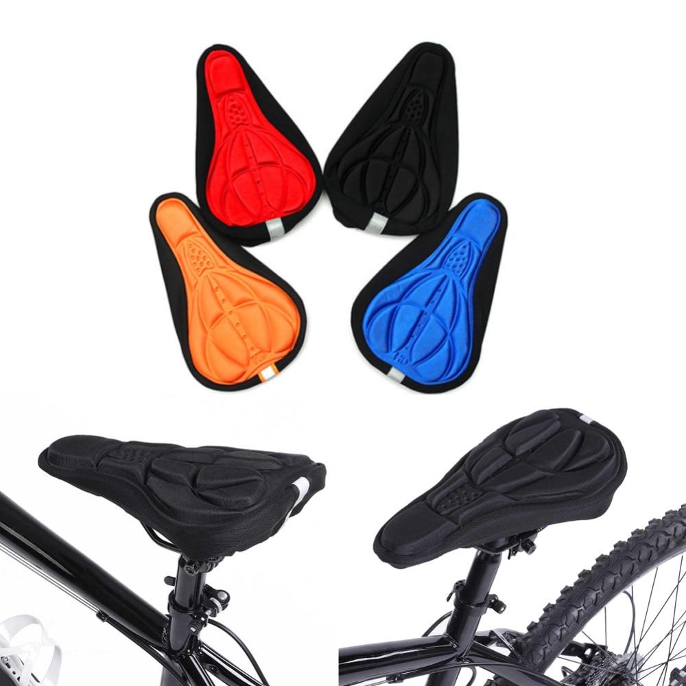 Cycling Bicycle Mountain Bike 3D Sponge Comfort Pad Seat Saddle Cover Cushion