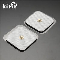 KIFIT Practical 40PCS Replacement Gel Electrode Pads For Electrode TENS 2x2 Inch Self Adhesive Stud Health