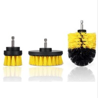 3pcs electric brush multi function cleaning brush Flooring tile cleaning tool