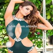 2017 VENUS VACATION  rhinestone brand swimsuit beachwear diamond bandeau swimwear biquini women sexy bikini