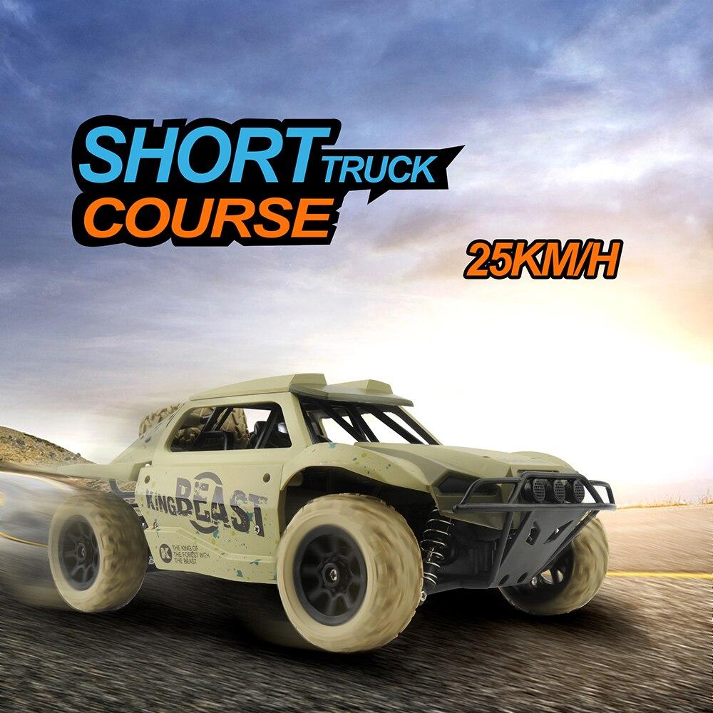 GizmoVine RC Voiture 1:18 Court Camion 4WD Dérive Télécommande Voiture Radio Contrôlée Machine Haute vitesse Racing Voitures Jouets Pour garçons