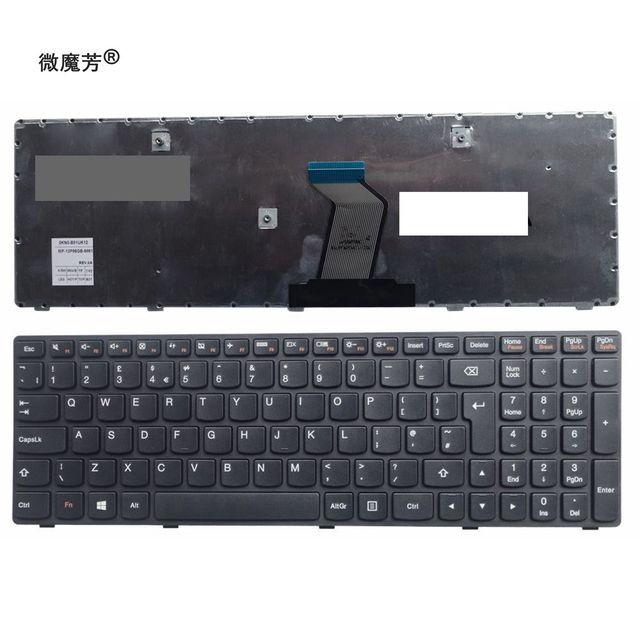 REINO UNIDO teclado do laptop Novo Para LENOVO G500 G505 G510 G510 G500A G505A G700A G700 G710 G710A G500AM G700AT