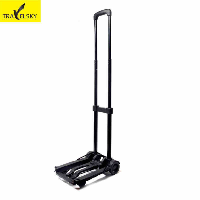 ФОТО Luggage Carts Stainless steel alloy pucker luggage barrow 13830  Free shipping