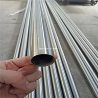 5pcs Ti Titanium Metal Tube Seamless Titanium Pipe 38mm 1 2mm 1000mm Free Shipping