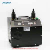 Lagenda 3.0 Timer and Counter Electric Balloon Inflator B322 has two start - up functions: press - operated and pedal - operate
