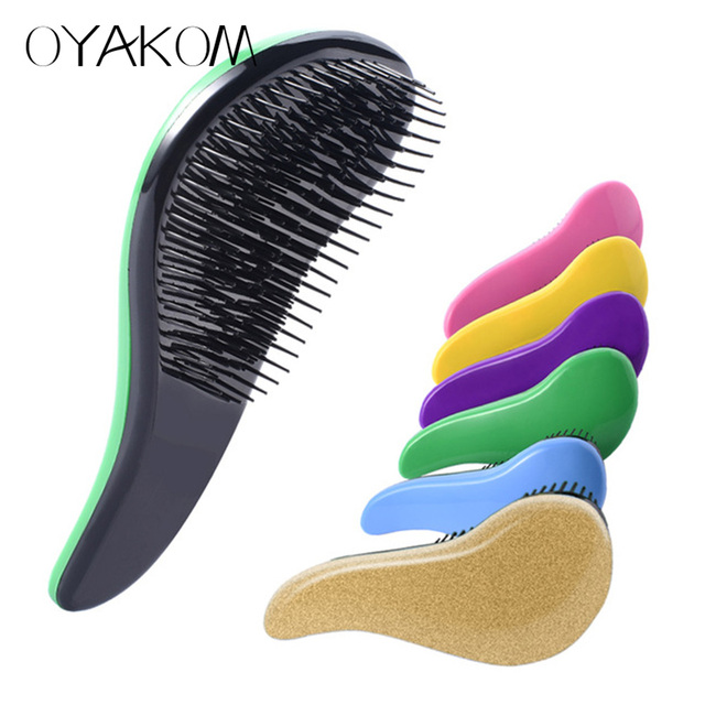 OYAKOM Magic Handle Tangle Detangling Comb for Hair Shower Hair Brush Salon Styling Tamer Tool Hot Sell Professional Hair Comb