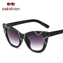 Oakshiontrend gato Gafas de sol mujeres moda oversized Marcos GG Sol Gafas  UV400 al aire libre eyewear gafas de sol 2018 e27a67542e
