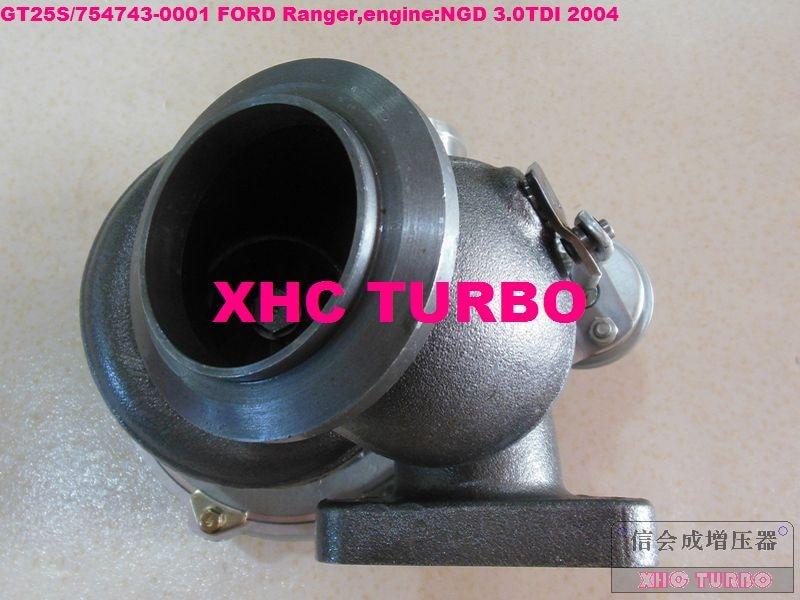 NEW GT25S / 754743-0001 79526 Turbo Turbocharger untuk FORD Ranger - Suku cadang mobil - Foto 2
