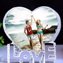 DIY K9 Crystal Love Weeding Photoalbum Gifts Anniversary Photo albums album de fotografia scrapbooking fotoalbum for photographs