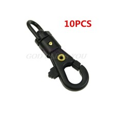 Mini Rotation Carabiner 360 Degree Buckle Tool Backpack Hang Molle Attach Parachute Paracord Camp Hike Outdoor EDC Gear Survive(China)