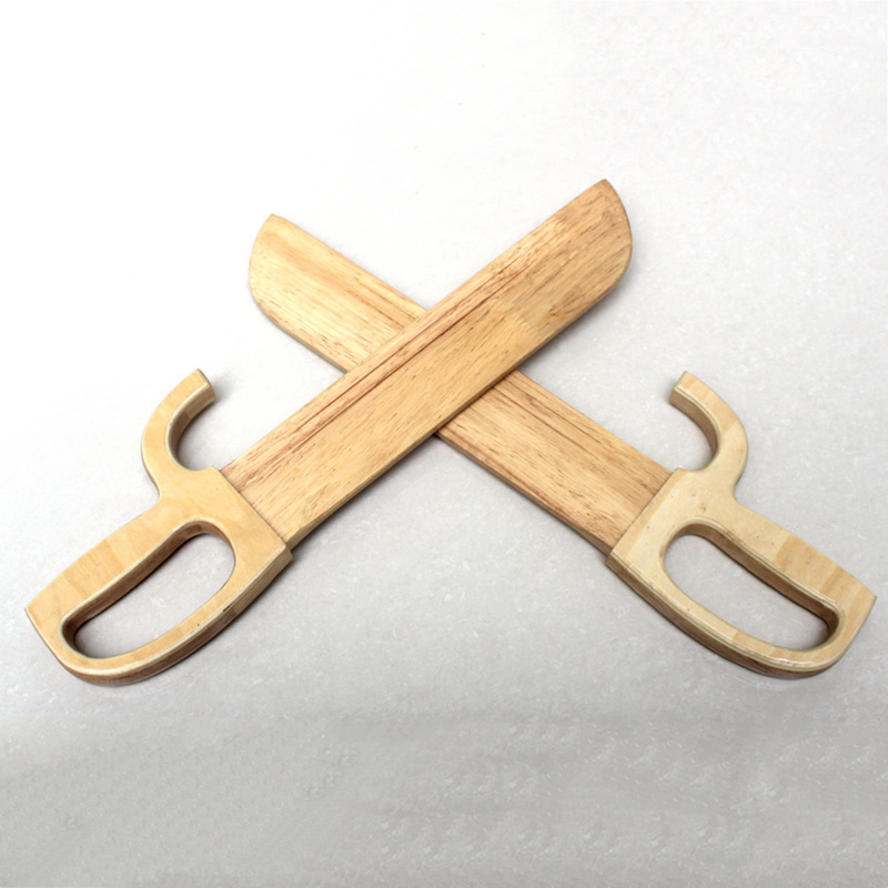 Kung Fu Chong Chun boxe papillon double-couteau Performance entraînement primaire couteau en bois sans tranchant