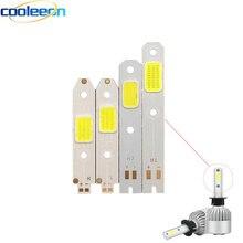 10 шт./лот S2 светодиодный автомобильный головной светильник COB чипы H1 H7 H4 Высокий Низкий Луч светильник аксессуары светодиодный чип для S2 авто фары чистый белый