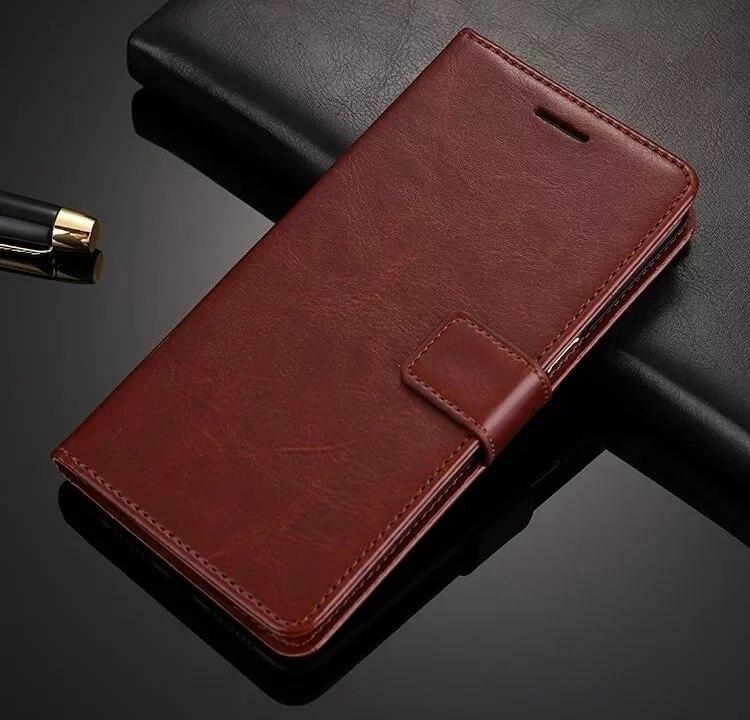Lyxig Flip PU-läderfodral för Apple IPhone 7 8 Plus med stativ + - Reservdelar och tillbehör för mobiltelefoner - Foto 2