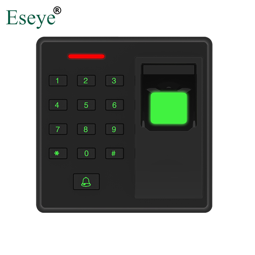 Eseye Employee Biometric Fingerprint RFID Password Access Control System Smart RFID Card Reader Standalone Access Controller цены