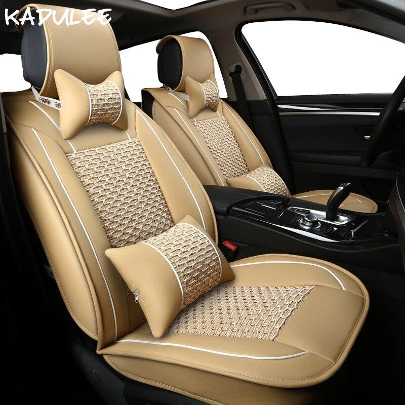 KADULEE ice silk car seat cover for lexus rx300 rx450 rx470 rx480 rx570 rx580 volvo xc70 citroen nissan audi peugeot car-styling car styling tire valve cap for audi hyundai fiat honda peugeot dacia vw citroen alfaromeo nissan toyota seat car styling sticker