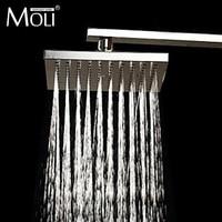Square 8 inch shower head ABS bath shower head rainfall shower free shipping
