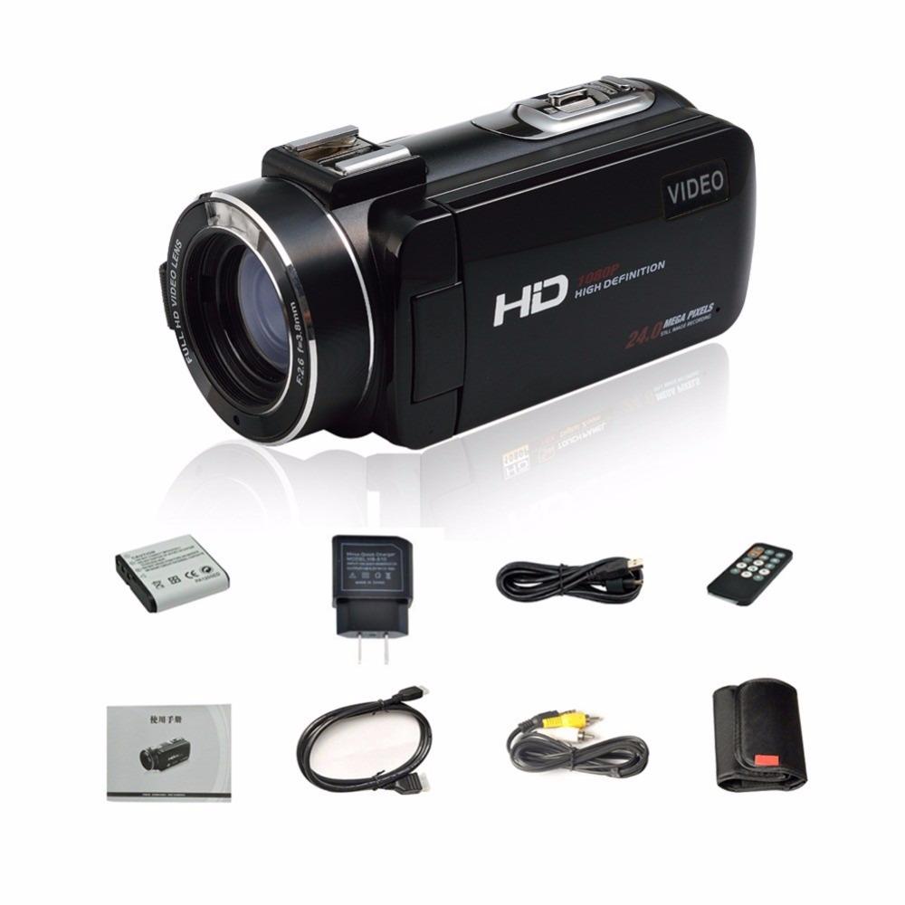 "17 Seree New Arrival FHD 1080P Digital Camera Wifi Video Camcorder 24MP 16x Zoom COMS Sensor 270 Degree 3.0"" LCD Screen 8"