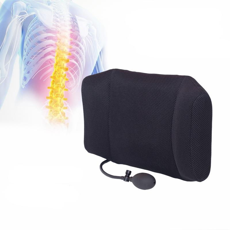 1pcs Tcare Portable Inflatable Lumbar Support Cushion