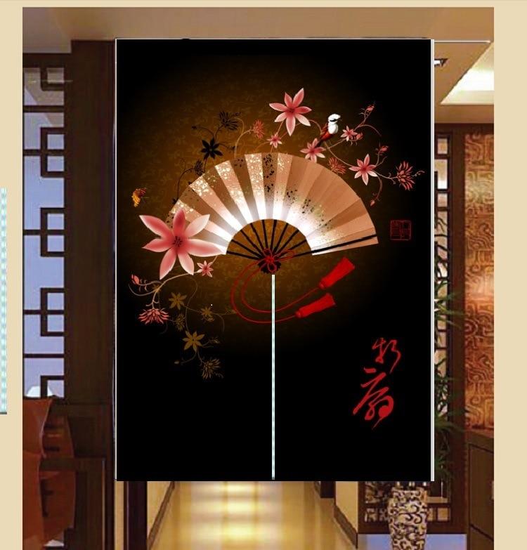 Schöne Vorhänge Dicken Baumwolltuch Tür Dekorativen Küche Zimmer Vorhang  Fan Vorhang