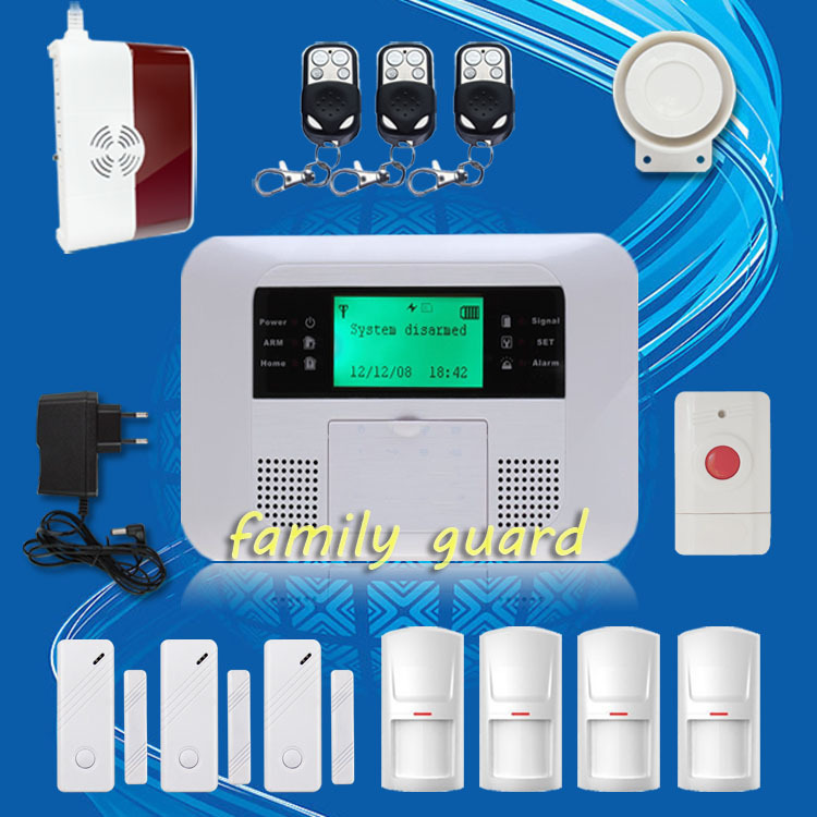 Free Shipping! High quality Gas Sensor+Panic Button LCD Menu screen Quad-band GSM PSTN SMS Wireless Home Alarm System Autodial girls party tutu dress baby princess ball gown costume tulle children dress for kids pageant prom wedding flower girl dresses