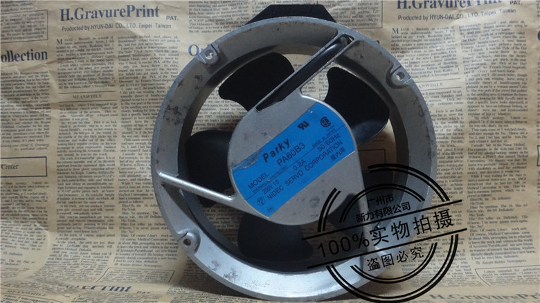 Original SERVO PA60B3 17CM 17250 200V 40W 0.2A 172 * 172 * 50mm winds of fan new original sgdv 120a01a sgmgv 13adc61 200v 1 3kw servo system sgdv 120a01a sgmgv 13adc61