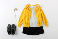 Filles ensembles de vêtements 2 - 8 anos comprennent hiver chandail de laine et coton chemises et Shorts en tricot filles hiver vêtements filles costume ensemble