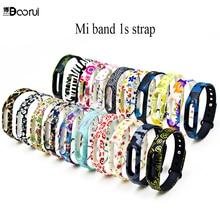 Pulsera Silicone mi band 1 Strap Colorful Replacment wrist strap