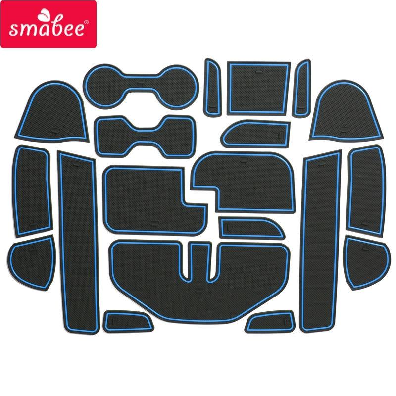 Smabee Para Nissan Navara NP300 D23 2015-2016 Puerta ranura Pad - Accesorios de interior de coche - foto 5