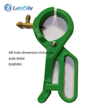 Automotive air conditioning refrigerant R134A refrigerant bottle opener valve CT006 AC Bottle Open Valve Side Punch Tap Opener цена 2017