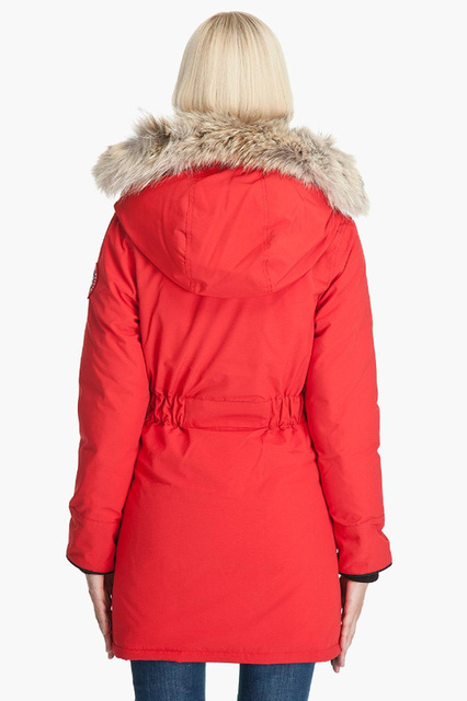 2015 womens goose down jacket winter warm trillium parka ladies rh aliexpress com