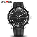 Weide Luxury Brand Fashion Mens Sports Watch Men Waterproof Multifunction Quartz Digital LED Militar Watch relogio masculino