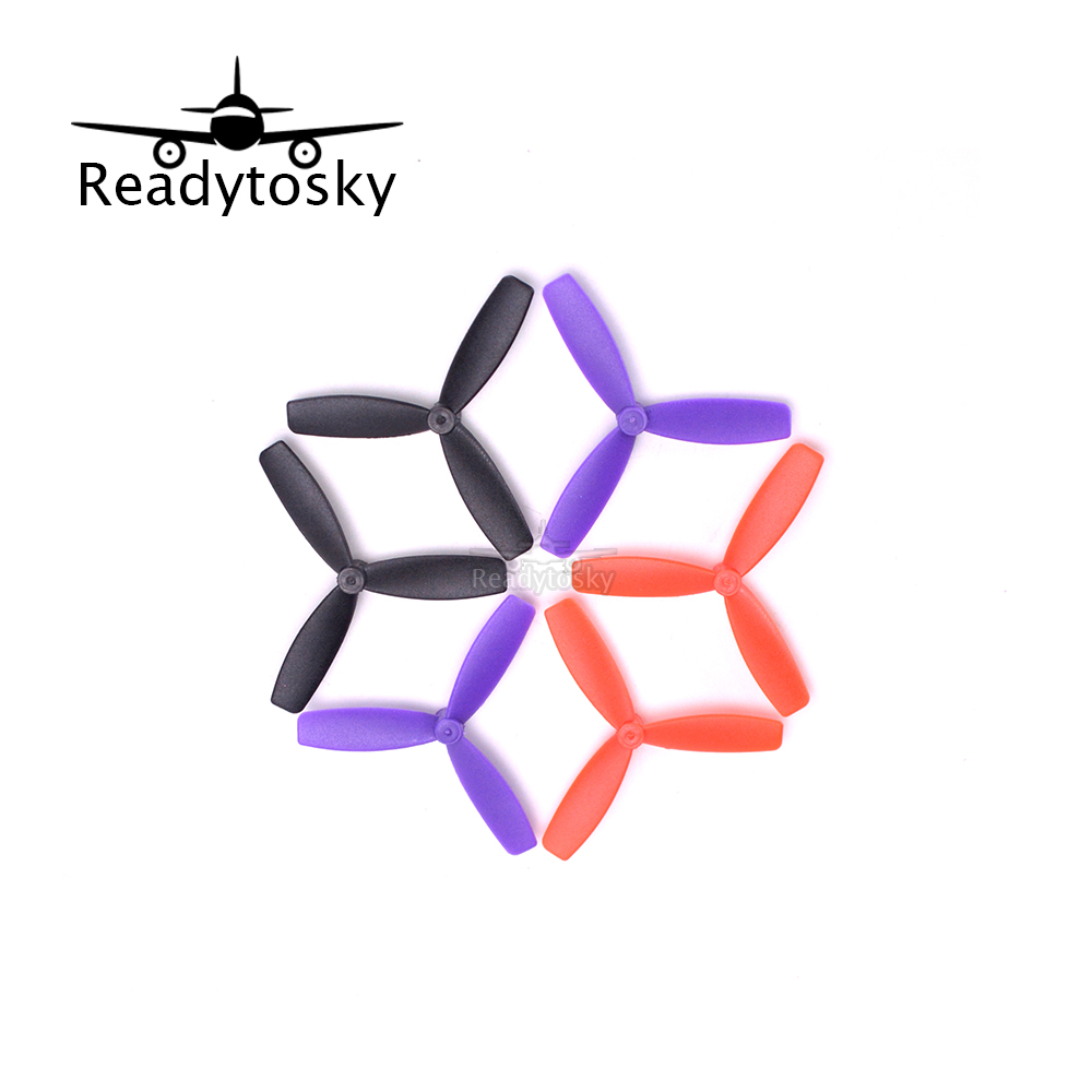 10pair x  55mm Blade Propeller Prop 1.5mm Mounting Hole Support 1104 4000kv motor for DIY Micro Quadcopter 4pcs plastic 4k prop blade propeller protector for yuneec q500 rc quadcopter